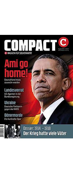 Compact Magazin Ausgabe August 2014