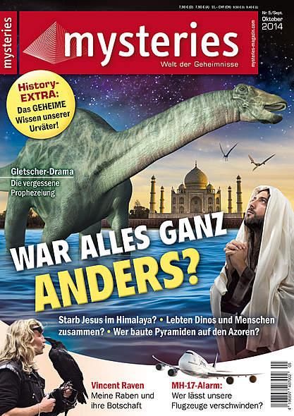 mysteries- Ausgabe Nr. 5 September/Oktober 2014