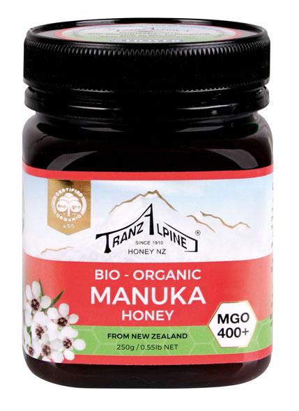 Bio Manuka-Honig aus Neuseeland (MGO 400+)