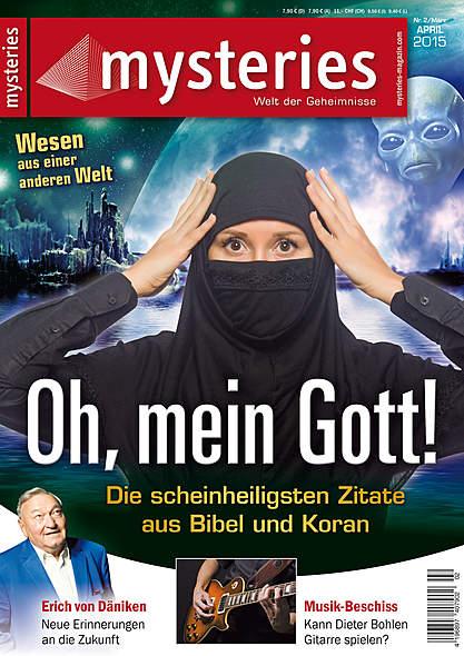 mysteries Ausgabe März/April 2015 von  | Kopp Verlag