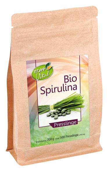 Kopp Vital Bio-Spirulina Presslinge- vegan