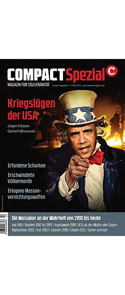 Compact Magazin Spezial Kriegslügen der USA von  | Kopp Verlag