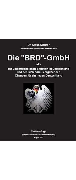 Die BRD-GmbH - 2. Auflage