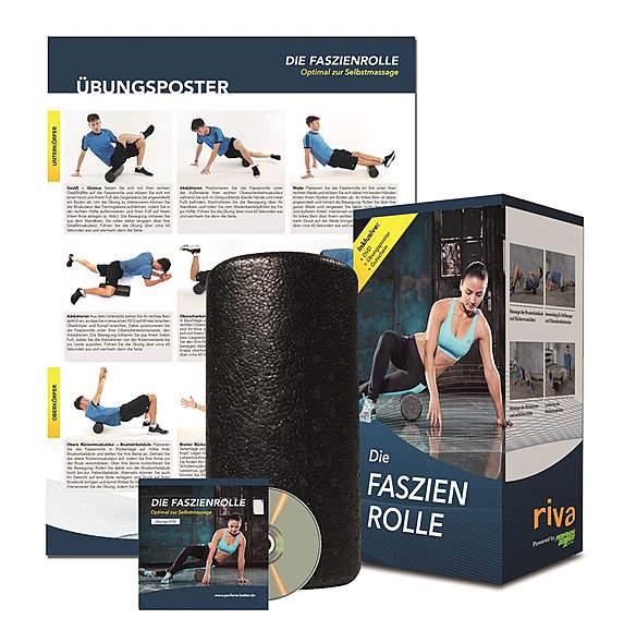 Faszien Rolle inkl. DVD und Übungsposter