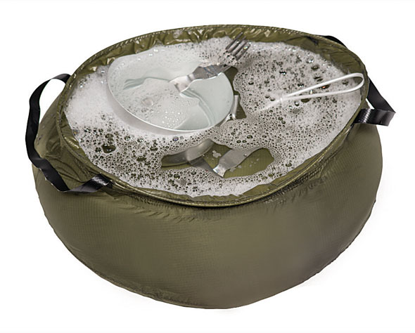 Outdoor Waschbehälter 10 Liter faltbar - 48 g
