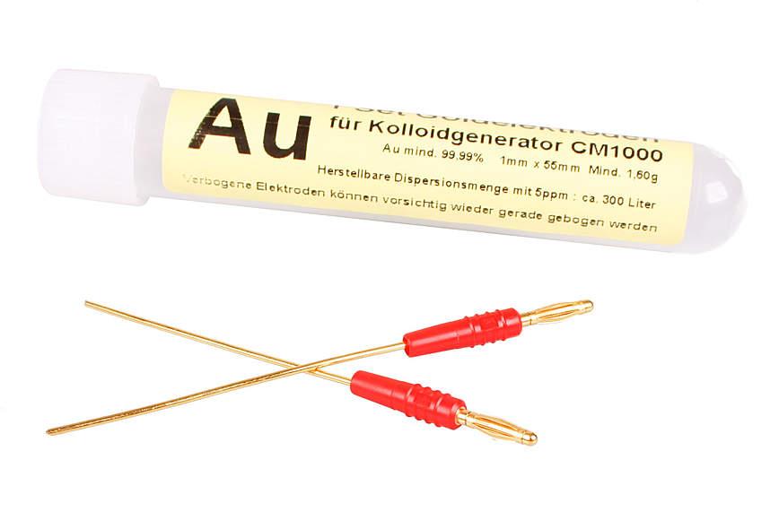 Goldelektroden für Colloidmaster CM1000/CM2000