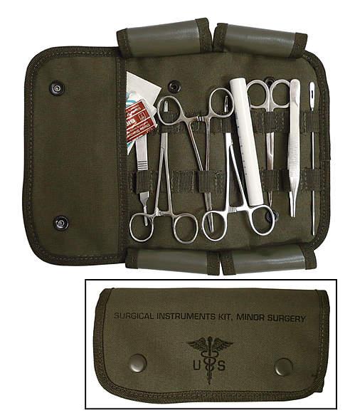 US Chirurgen-Set 12-teilig