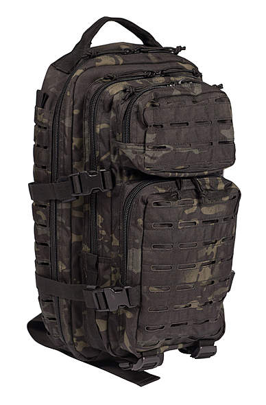 US Assault Pack Rucksack Laser Cut - klein