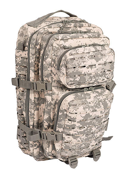 US Assault Pack Rucksack Laser Cut - groß - AT-digital