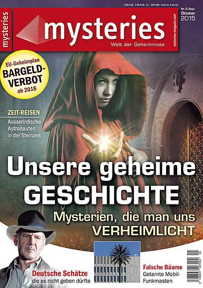 mysteries- Ausgabe Nr. 5 September/Oktober 2015