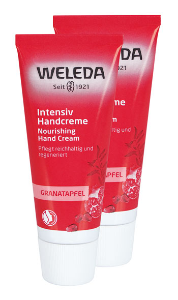 2er Pack Weleda Granatapfel Regenerations-Handcreme, 50ml