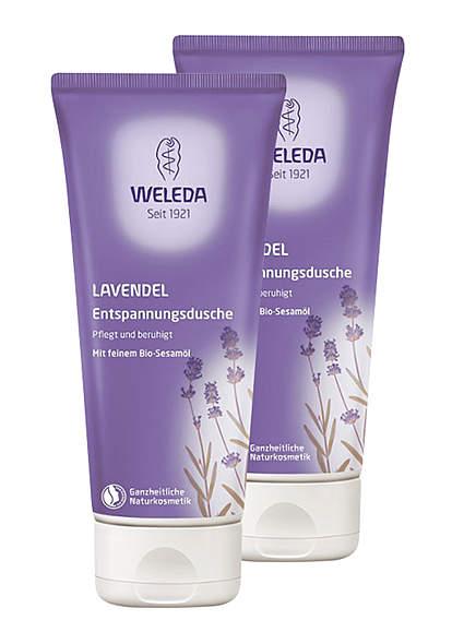 2er Pack Weleda Lavendel-Entspannungsdusche, 200ml