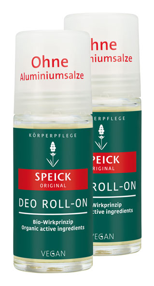2er Pack Speick Natural Deo Roll-On, 50ml