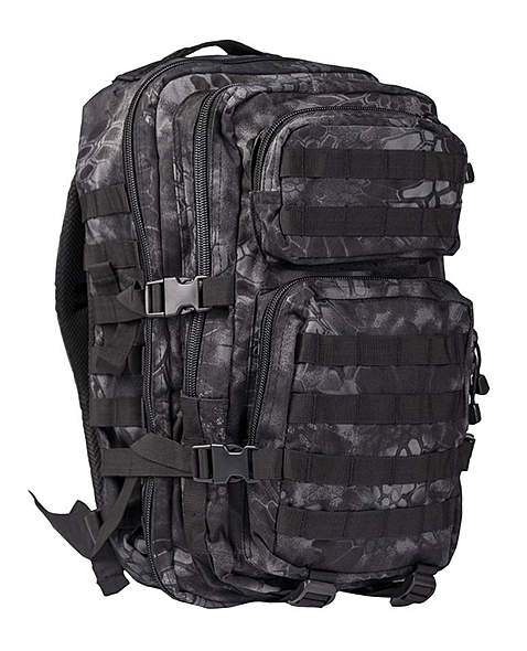 US Assault Pack Rucksack - groß - Mandra Night