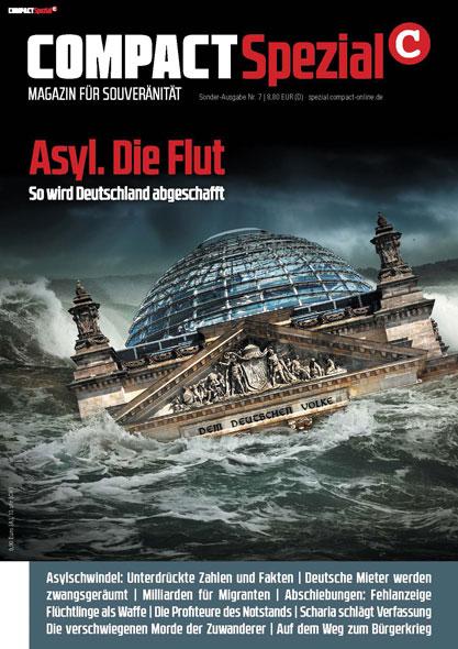 COMPACT-Spezial Nr. 7 Asyl. Die Flut
