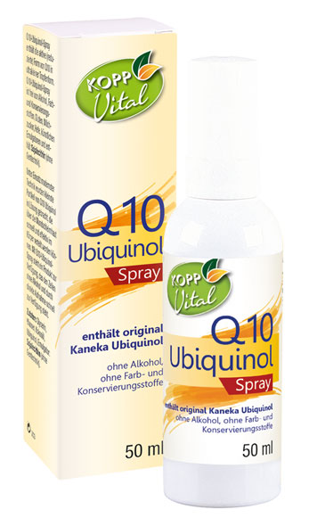 Kopp Vital Q10 Ubiquinol Spray