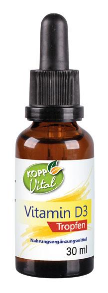 Kopp Vital Vitamin D3 Tropfen