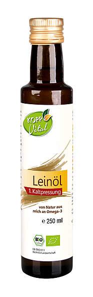 Kopp Vital Bio-Leinöl - vegan