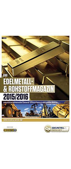 Edelmetall- und Rohstoffmagazin 2015/2016