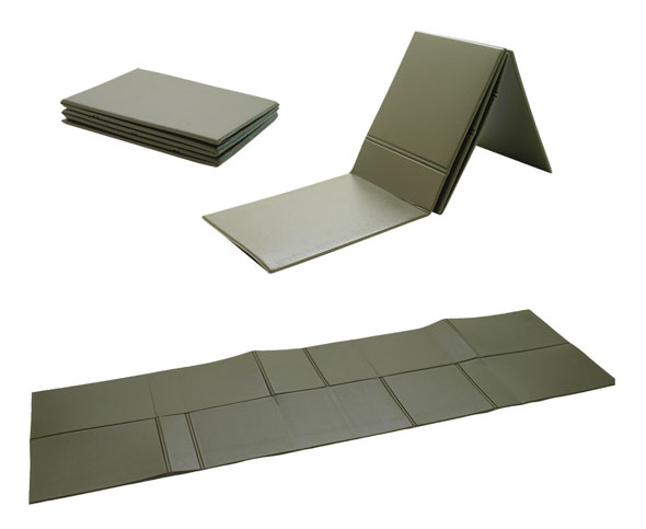 Isomatte faltbar oliv - 190 x 60 x 0,5 cm