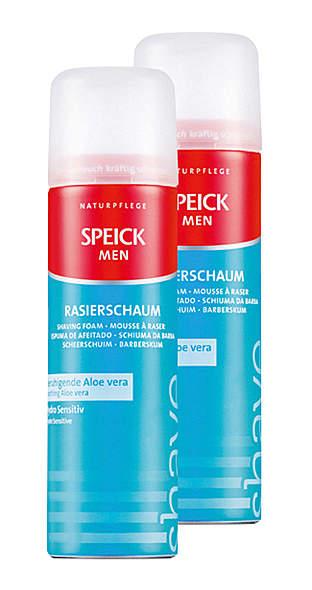 2er Pack Speick Rasierschaum mit Aloe Vera 200ml