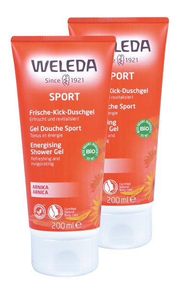 2er Pack Weleda Arnika Sport Duschgel - 200ml