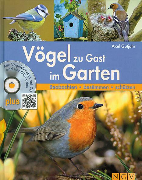 Vögel zu Gast im Garten,inkl. Audio-CD
