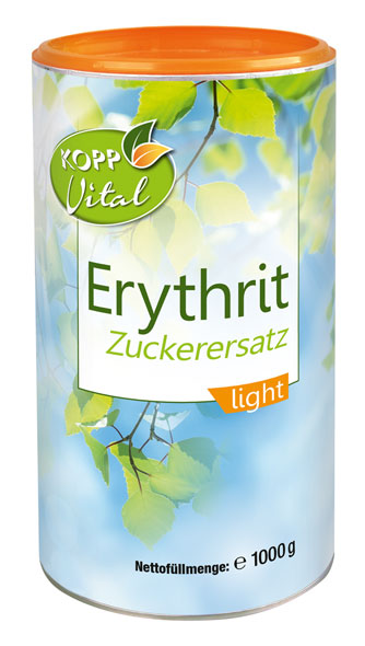 Kopp Vital Erythrit Zuckerersatz light