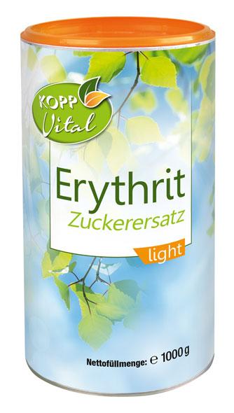 Kopp Vital Erythrit Zuckerersatz light