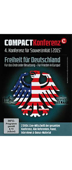 Compact Konferenz - 4. Konferenz für Souveränität 2015 - DVD von  | Kopp Verlag