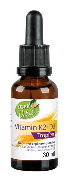 Kopp Vital Vitamin K2 + D3 Tropfen