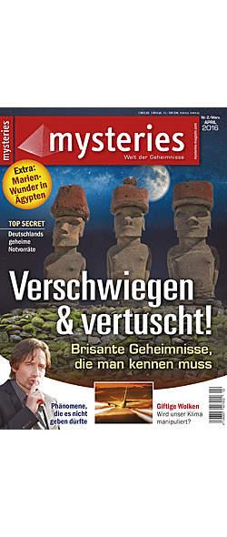 Mysteries - Ausgabe März/April 2016 von  | Kopp Verlag