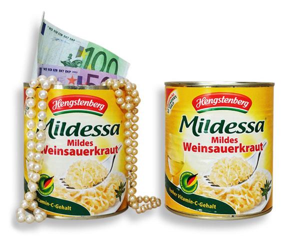 Dosensafe Mildessa mildes Weinsauerkraut