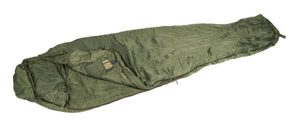 Schlafsack Tactical 4 oliv - Mängelartikel