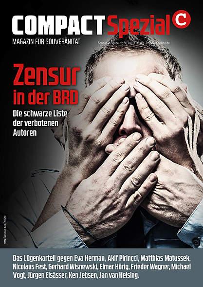 Compact Spezial Nr. 9: Zensur in der BRD von  | Kopp Verlag
