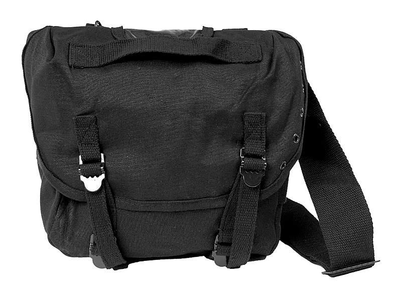 US Packtasche M67 mit Gurt - schwarz