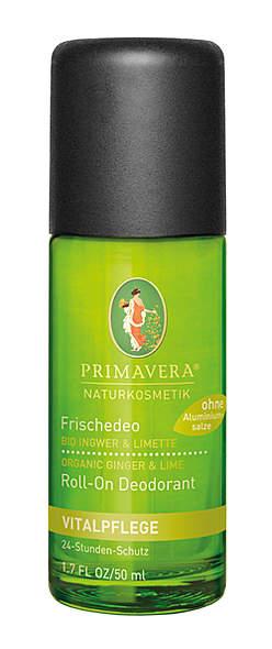 PRIMAVERA® Frischedeo Ingwer Limette 50 ml