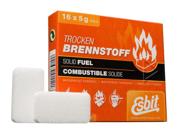 Esbit Trockenbrennstofftabletten 5 g - 16er Pack
