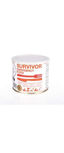 SURVIVOR® Curryhuhn mit Reis 25 Jahre haltbar -  8 Portionen