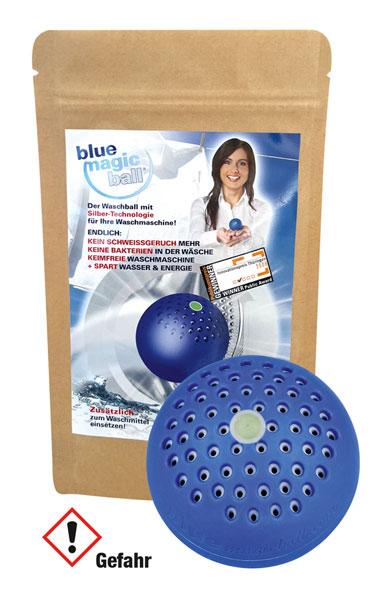 BlueMagicBall Reinigungskugel mit Silberionen