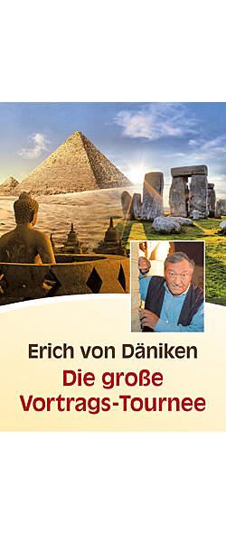 Erich von Däniken - Die große Vortrags-Tournee von  | Kopp Verlag