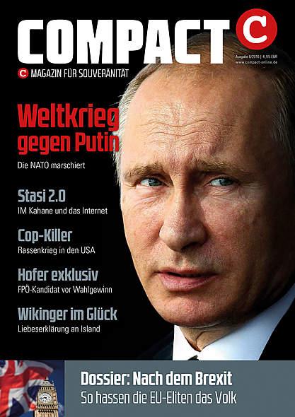 Compact Magazin Ausgabe August 2016