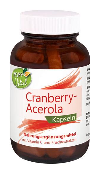 Kopp Vital Cranberry-Acerola Kapseln