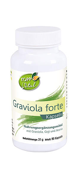 Kopp Vital Graviola Forte Kapseln von  | Kopp Verlag