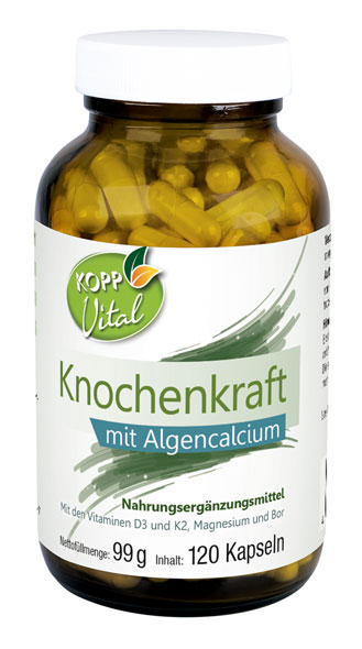 Kopp Vital Knochenkraft mit Algencalcium - vegan