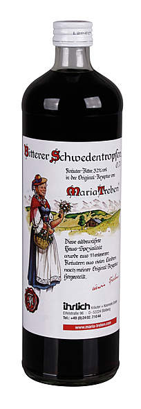 Maria Treben Bitterer Schwedentropfen 32% Vol. Alc.