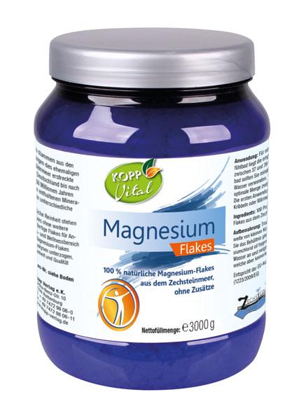 Kopp Vital Magnesium Flakes 3kg - vegan