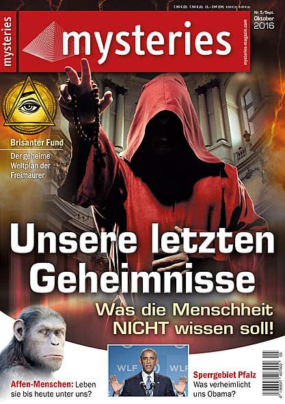 mysteries - Ausgabe Nr. 5 September/Oktober 2016