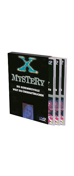Die geheimnisvolle Welt des Übernatürlichen -3DVDs im Schuber von Mystery X: | Kopp Verlag