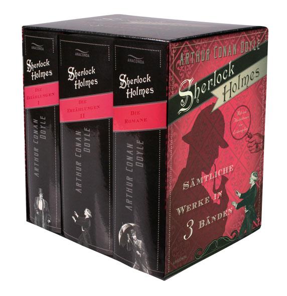 Sherlock Holmes - Sämtliche Werke in 3 Bänden